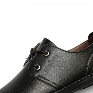 Men Casual Wear Outsole Leather Wedding Shoes -