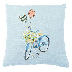 Romantic Flower Balloon Car Small Fresh Pillow Set Confidence -