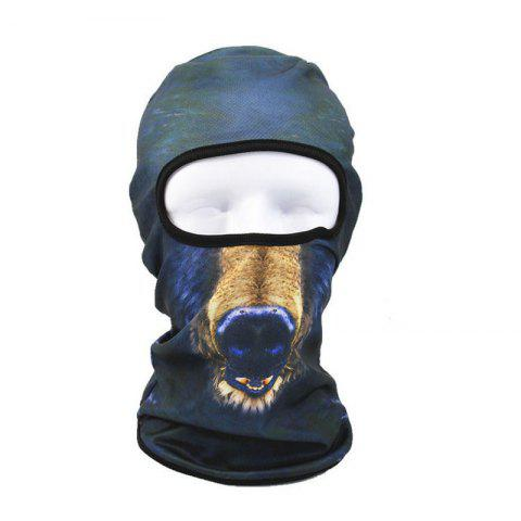 Online 3D Animal Style Breathable Face Mask for Outdoor Sports Motorcycle Cycling Snowboard Hunting