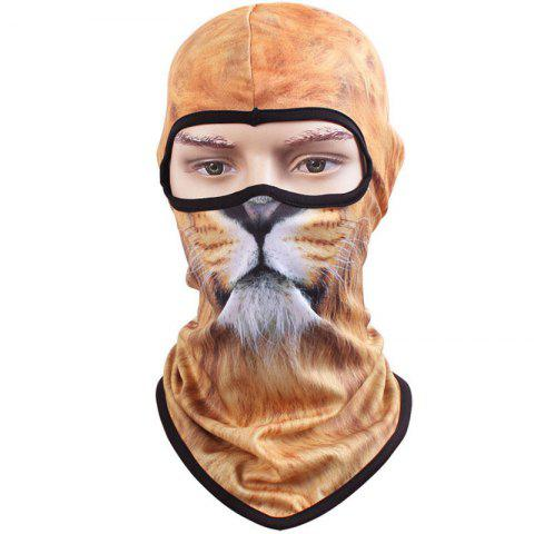 Sale 3D Animal Style Breathable Face Mask for Outdoor Sports Motorcycle Cycling Snowboard Hunting