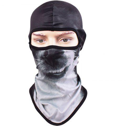 Affordable 3D Animal Style Breathable Face Mask for Outdoor Sports Motorcycle Cycling Snowboard Hunting