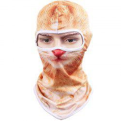 3D Animal Style Breathable Face Mask for Outdoor Sports Motorcycle Cycling Snowboard Hunting -