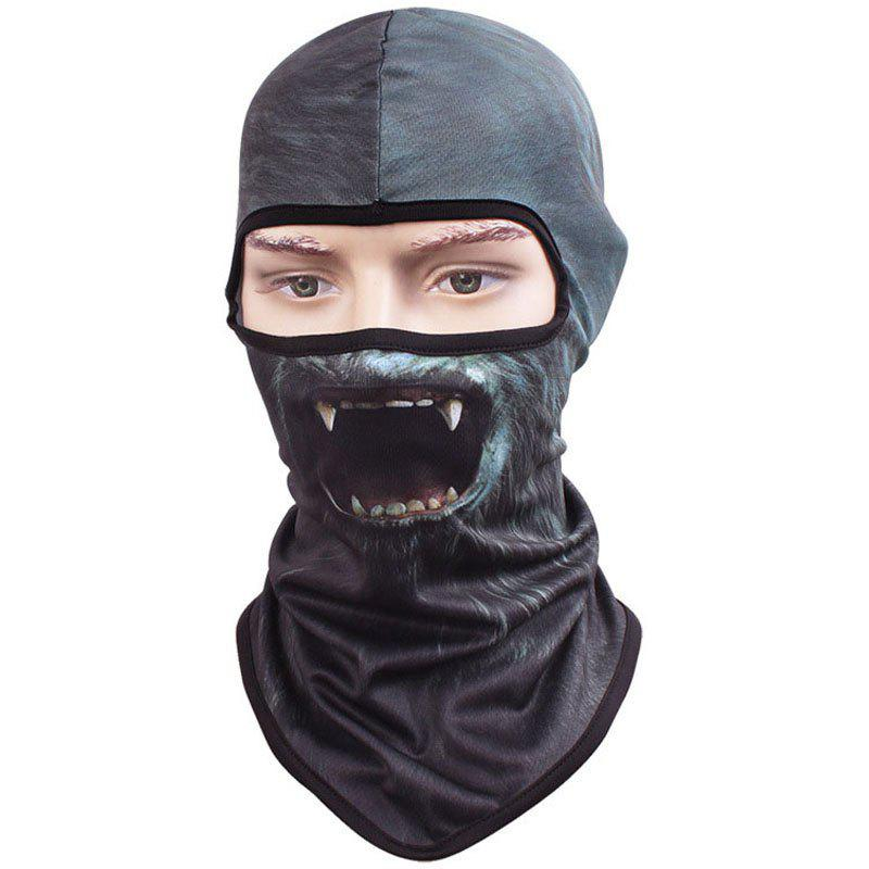 Buy 3D Animal Style Breathable Face Mask for Outdoor Sports Motorcycle Cycling Snowboard Hunting