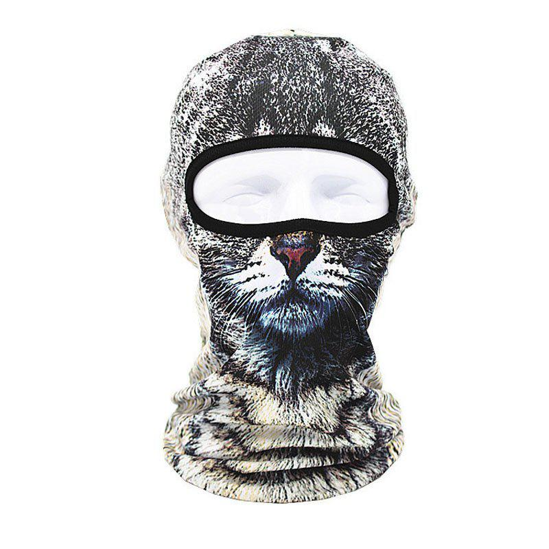 Shop 3D Animal Style Breathable Face Mask for Outdoor Sports Motorcycle Cycling Snowboard Hunting