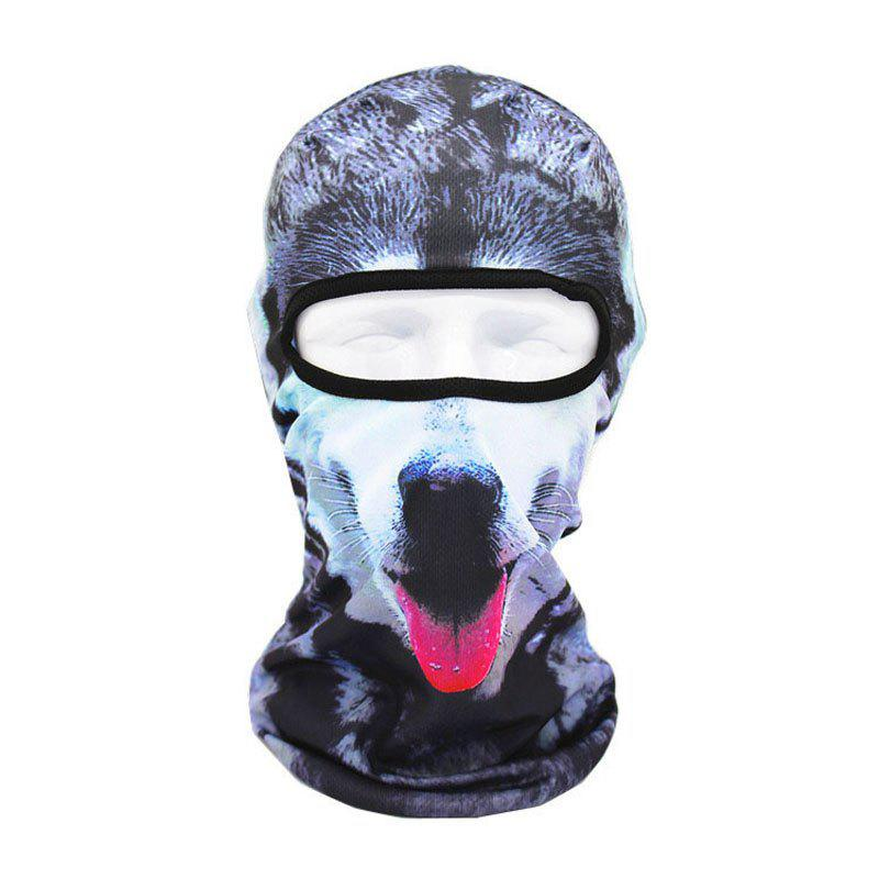 Cheap 3D Animal Style Breathable Face Mask for Outdoor Sports Motorcycle Cycling Snowboard Hunting