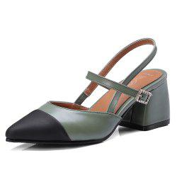 New Sharp Heel Female Sandals -
