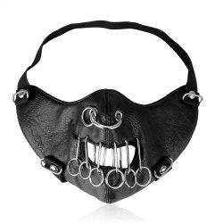 Punk Cortex Multi Ring Locomotive Outdoor Decoration Mask -