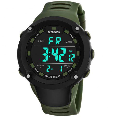 Online SYNOKE 9638 Waterproof Men Multi-Sport Climbing Running Electronic Watch
