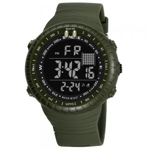 SYNOKE 9648 Waterproof Multifunctional Outdoor Large Screen Male Electronic Watch -