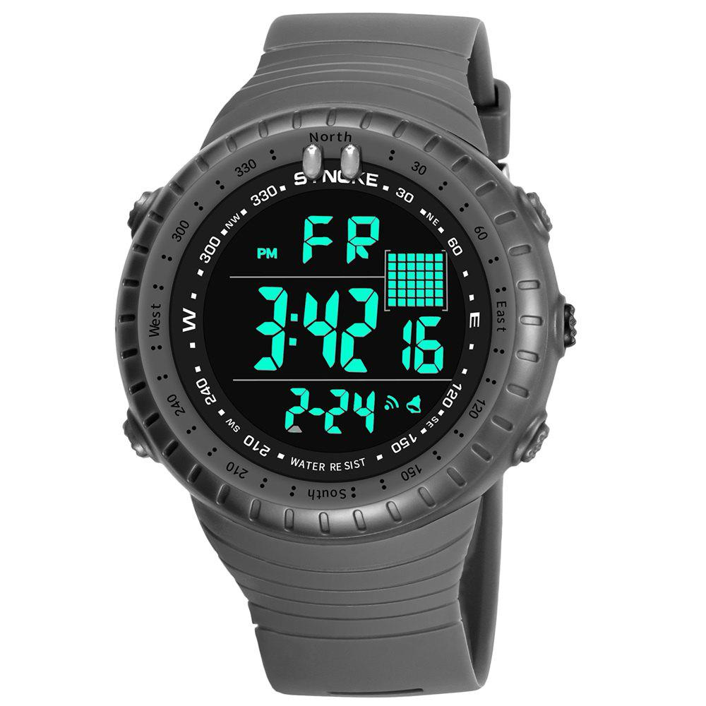 Discount SYNOKE 9648 Waterproof Multifunctional Outdoor Large Screen Male Electronic Watch
