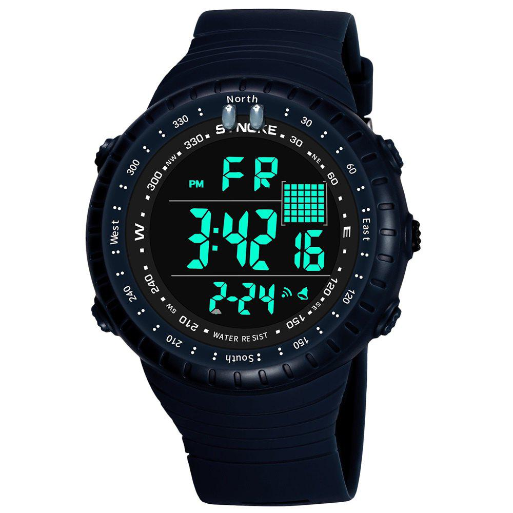 Outfit SYNOKE 9648 Waterproof Multifunctional Outdoor Large Screen Male Electronic Watch