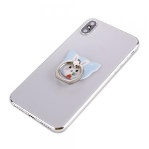 Cute Cartoon Rabbit 360 Degree Finger Ring Mobile Phone Smartphone Stand Holder Smart Phone -
