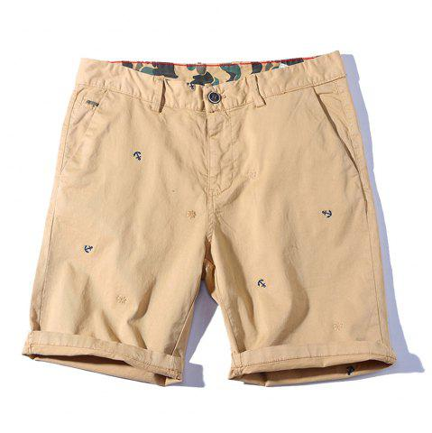 Affordable 2018 Summer New Men Cotton Shorts Casual Pants