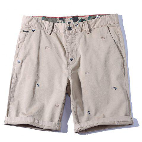 2018 Summer New Men Cotton Shorts Pantalons décontractés
