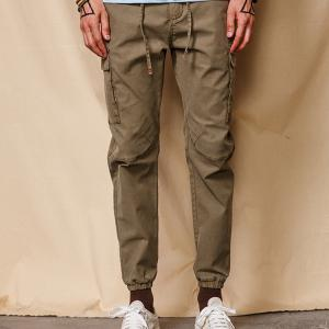 Spring and Autumn Men Casual Pants Trousers Harem -