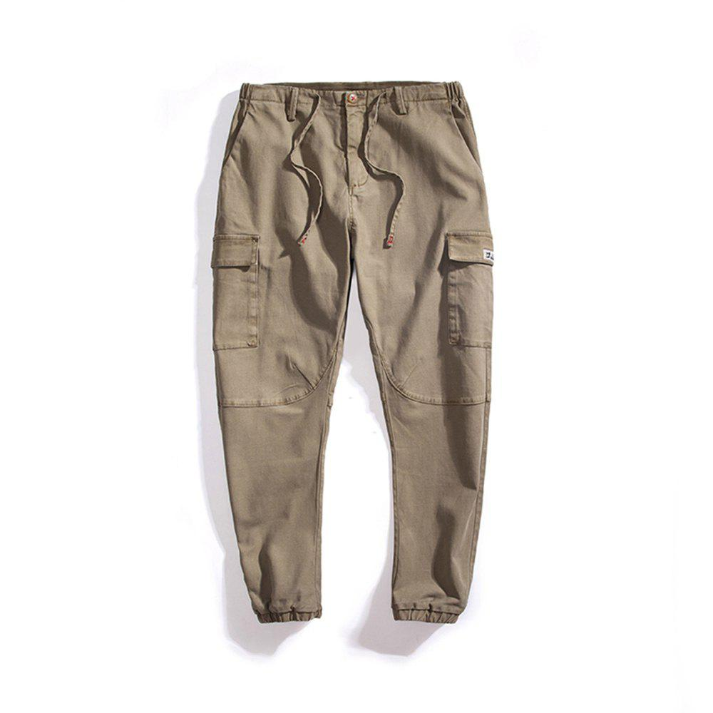 Outfits Spring and Autumn Men Casual Pants Trousers Harem
