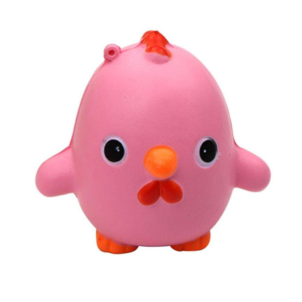Outfit Jumbo Squishy Slow Rising Kawaii Cute Cartoon Chicken Toys
