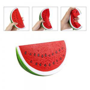 Jumbo Squishy Lemon and Watermelon Stress Relief Soft Toy for Kids and Adult 2PCS -