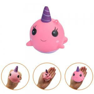 Jumbo Squishy Cake and Whale Scented Slow Rising Kawaii Toys for Kids 2PCS -