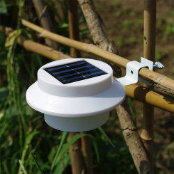 BRELONG 3LED Solar Fence Lamp Eaves Landscape Courtyard Induction Wall Lamp -
