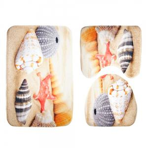 Three Pieces of Toilet Seat Cushion Suit for Toilet -