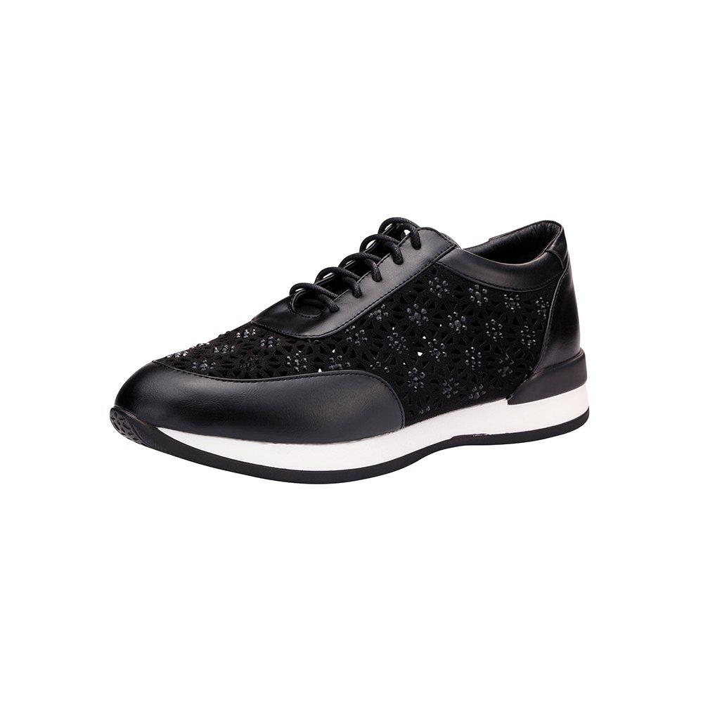 Lace Up RhineStone Sneaker Chaussures