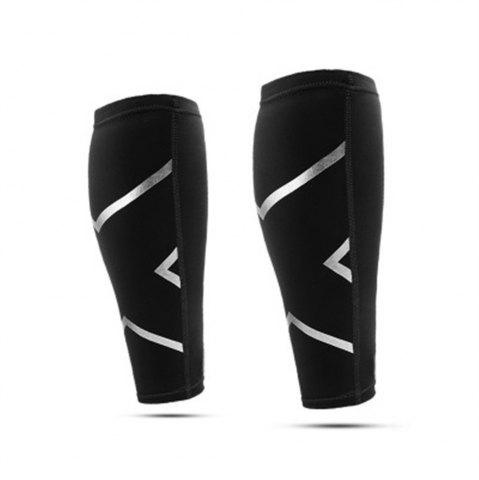 Fancy 1PCS Running Calf Compression Socks Support Protector  Cycling Leg Warmers Football Shin Guard