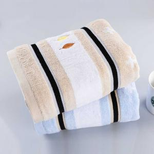 Soft Home Textiles Europe Fashion Satin Cotton Fabric Square Hand Towel Absorbent -