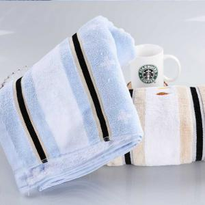 Soft Home Textile Europe Fashion Satin Cotton Fabric Towel Absorbent -