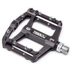 MEETLOCKS Bike Pedal CNC Aluminum Body Cr-Mo Machined 9/16 2 PCS -