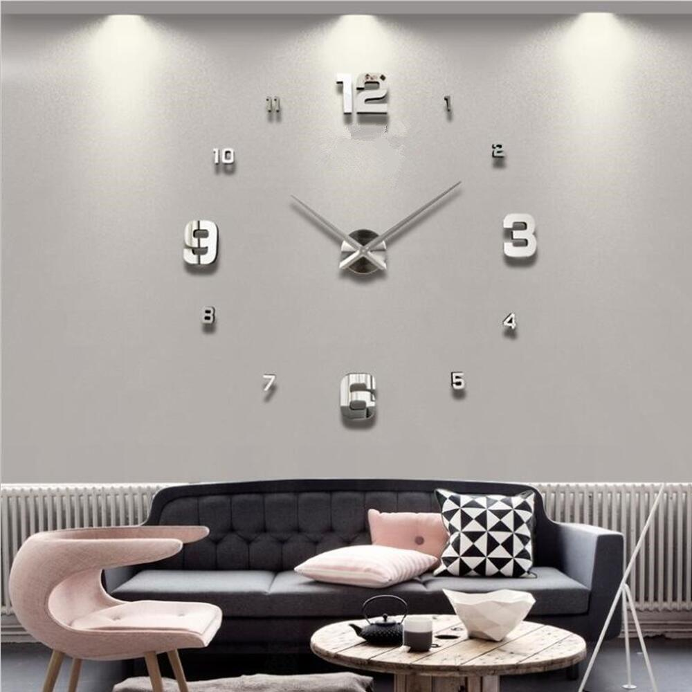 Latest DIY Creative Living Room Decoration Wall Clock