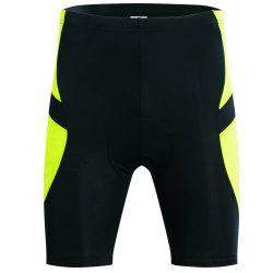 Realtoo Men's Cycling Shorts Padded Bicycle Riding Pants -
