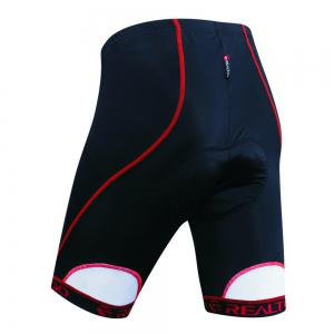 Realtoo Men's Biking Shorts Padded Bicycle Riding Pants -