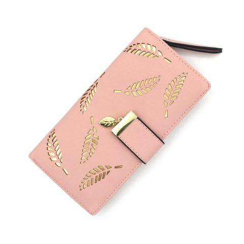 Fancy Long Ladies Fashion Hand-Held Hollow Wallet