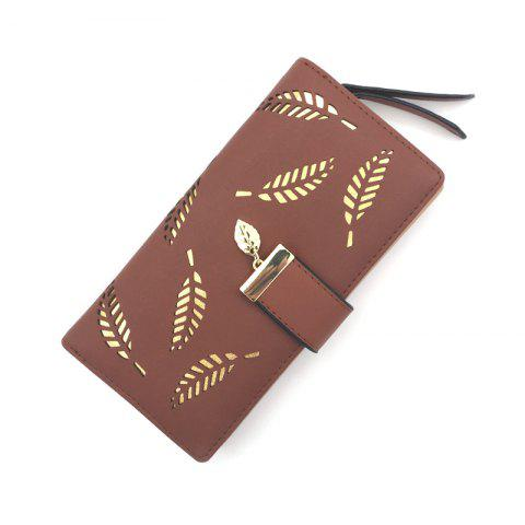 Online Long Ladies Fashion Hand-Held Hollow Wallet