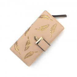 Long Ladies Fashion Hand-Held Hollow Wallet -
