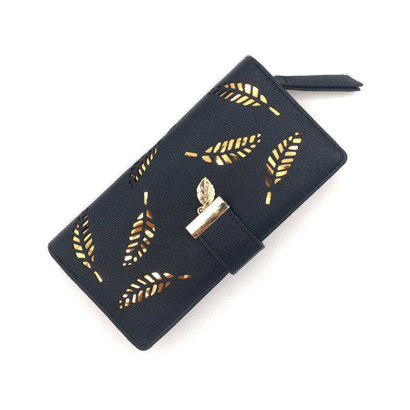 New Long Ladies Fashion Hand-Held Hollow Wallet