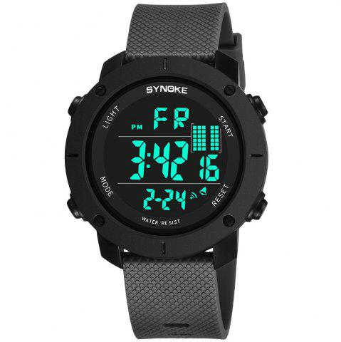 Trendy SYNOKE 9658 Outdoor Multifunction Large Dial Men Sports Electronic Watch