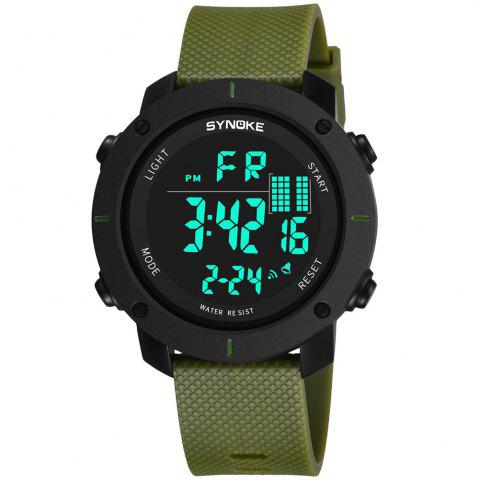 Store SYNOKE 9658 Outdoor Multifunction Large Dial Men Sports Electronic Watch