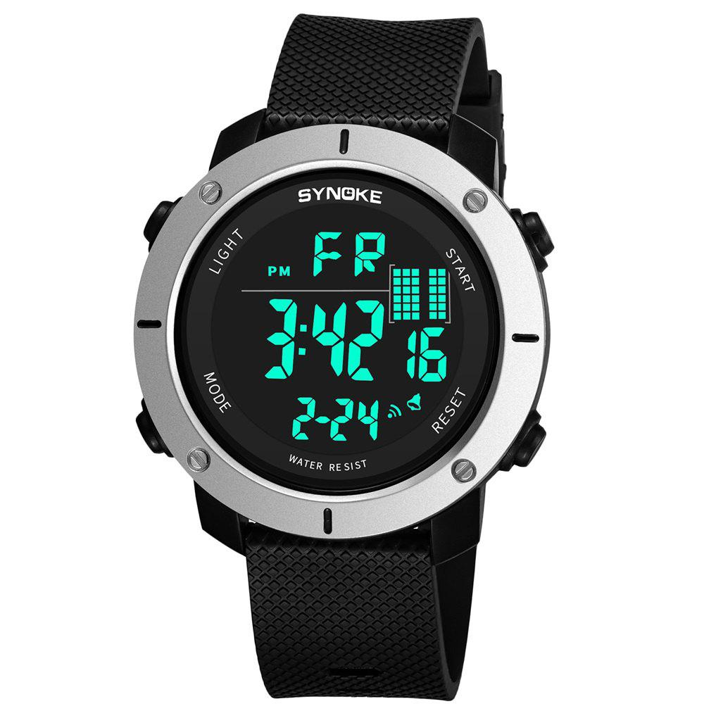Hot SYNOKE 9658 Outdoor Multifunction Large Dial Men Sports Electronic Watch