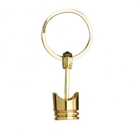 Outfit Creative Gift Personalized Car Engine Modified Piston Metal Key Chain
