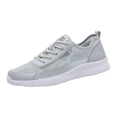 Buy Summer Men Hollow Breathable Sneakers