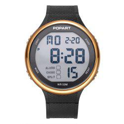 POPART POP-936 Unisex Digital Watch with 50 Meter Waterproof -
