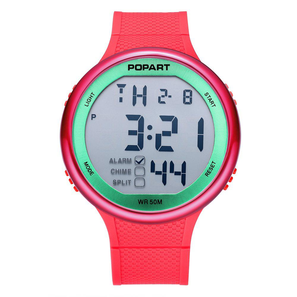 Cheap POPART POP-936 Unisex Digital Watch with 50 Meter Waterproof