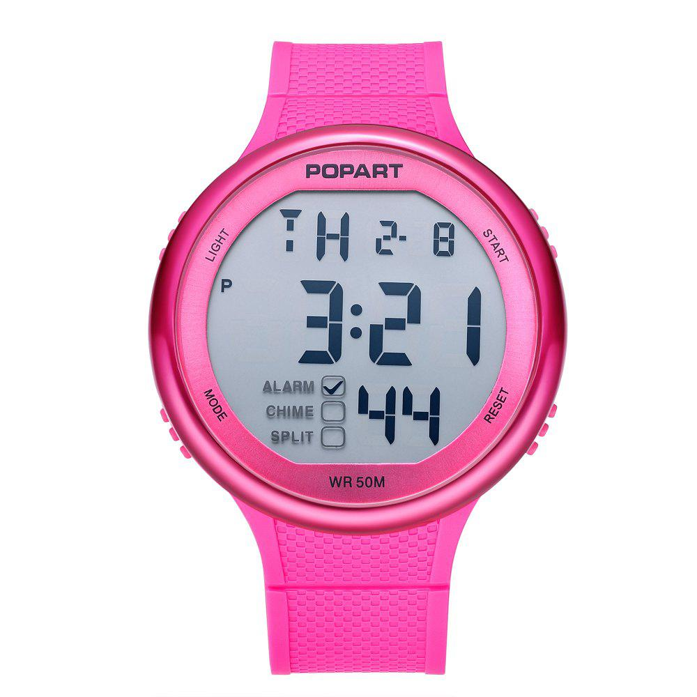 Fancy POPART POP-936 Unisex Digital Watch with 50 Meter Waterproof