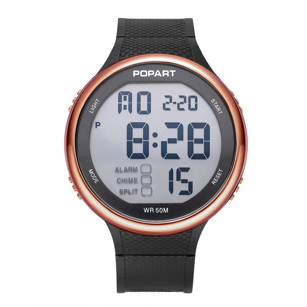 Discount POPART POP-936 Unisex Digital Watch with 50 Meter Waterproof