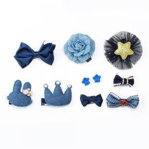 Baby Hair Accessories Bow Tie 10 Pieces of Girls Accessories -