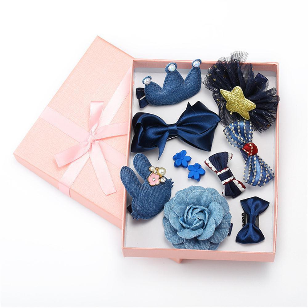 Shop Baby Hair Accessories Bow Tie 10 Pieces of Girls Accessories