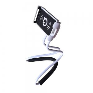 Lazy Bracket Mobile Phone Neck Hanging Stand Holder For iPhone Samsung -