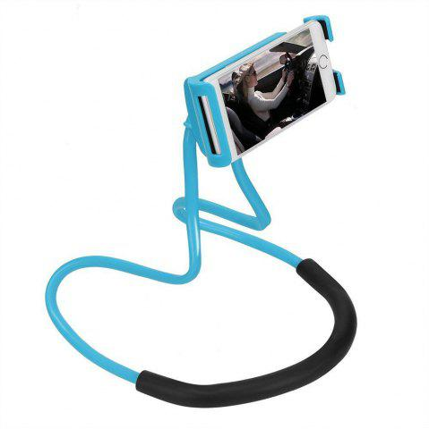 Fancy Lazy Bracket Mobile Phone Neck Hanging Stand Holder For iPhone Samsung